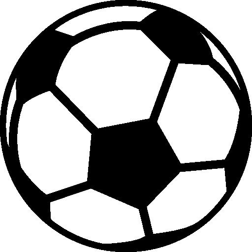 Fußball mit Aufdruck