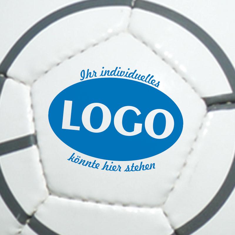 Logo auf Promoball